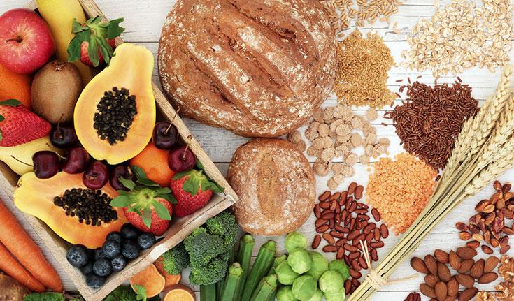 Quais  alimentos contribuem para o funcionamento do intestino?